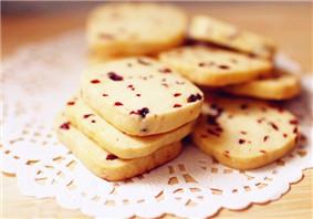 张杰蔓越莓饼干怎么做
