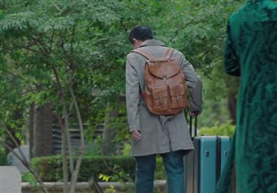 美好生活张嘉译背包是什么牌子