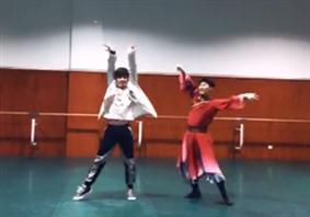 抖音蒙古舞教程动作视频