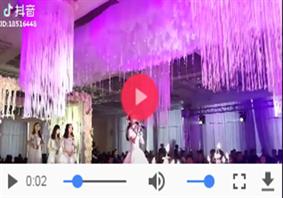 抖音婚礼上唱最重要的决定视频